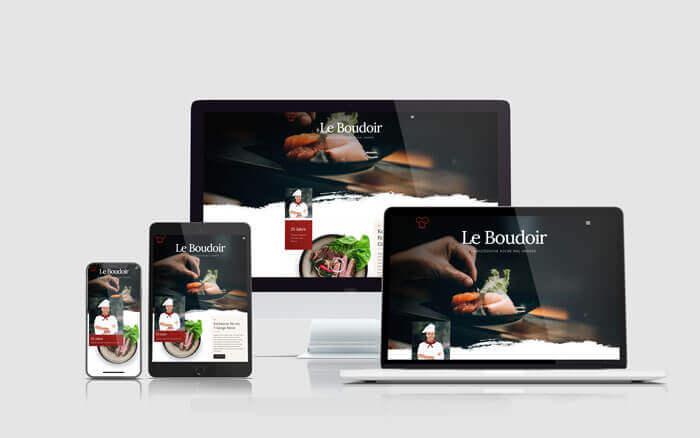Webseite-Restaurant